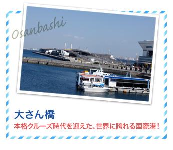 大さん橋…本格クルーズ時代を迎えた、世界に誇れる国際港!