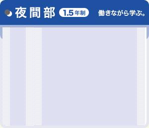 夜間部(1.5年制)